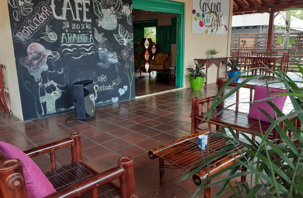 La Casona del café, un lugar atractivo para compartir buenos momentos