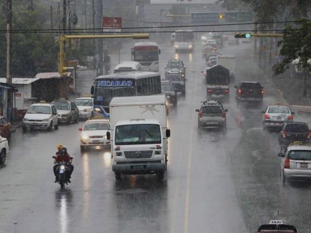 Fuertes lluvias se esperan en gran parte del territorio nacional esta semana