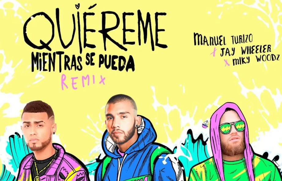 """Manuel Turizo estrenó el remix de «Quiéreme mientras se pueda"""""""