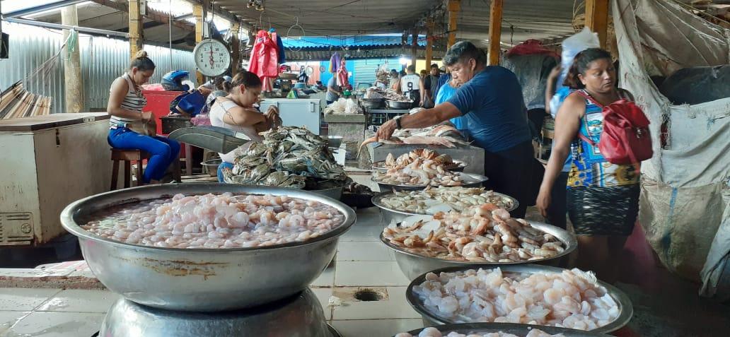 Precios de los mariscos se mantienen estables durante la semana patria