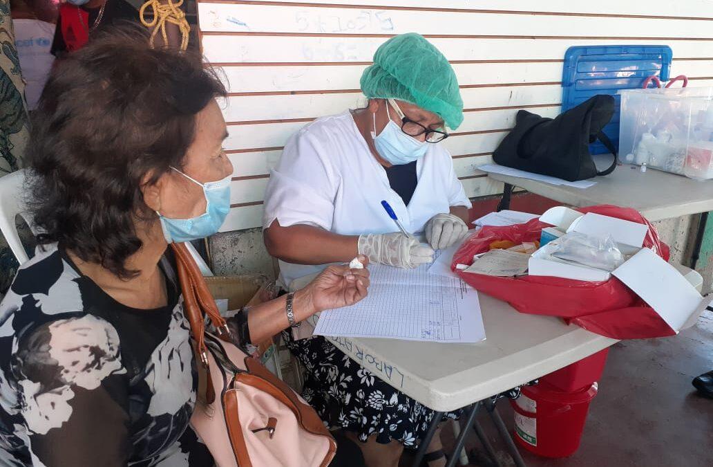 Mi Hospital, en mi Comunidad llega a los habitantes del Reparto San Antonio