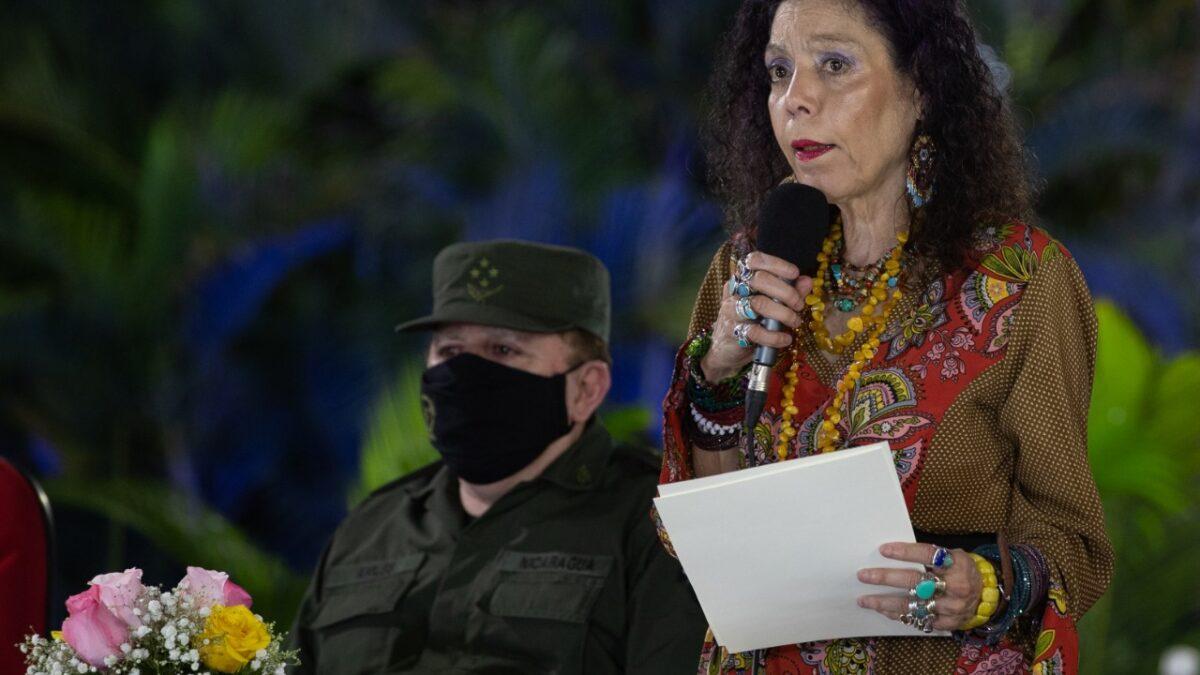 Rosario Murillo «La paz la garantiza el estado nicaragüense»