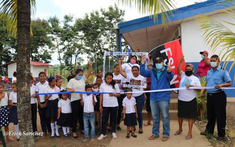 Más obras de progreso para las familias nicaragüenses