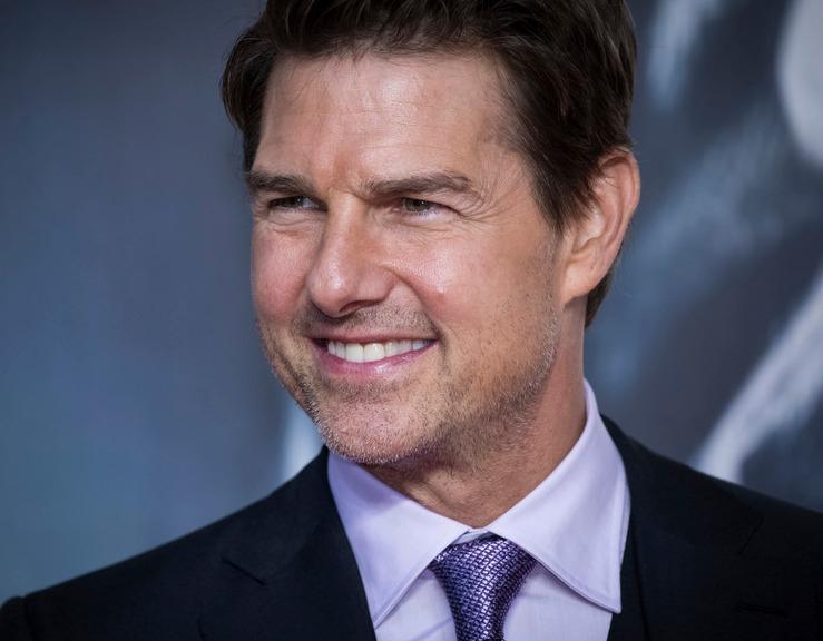 """Tom Cruise saltando al vacío para grabar el rodaje de """"Misión imposible 7"""""""