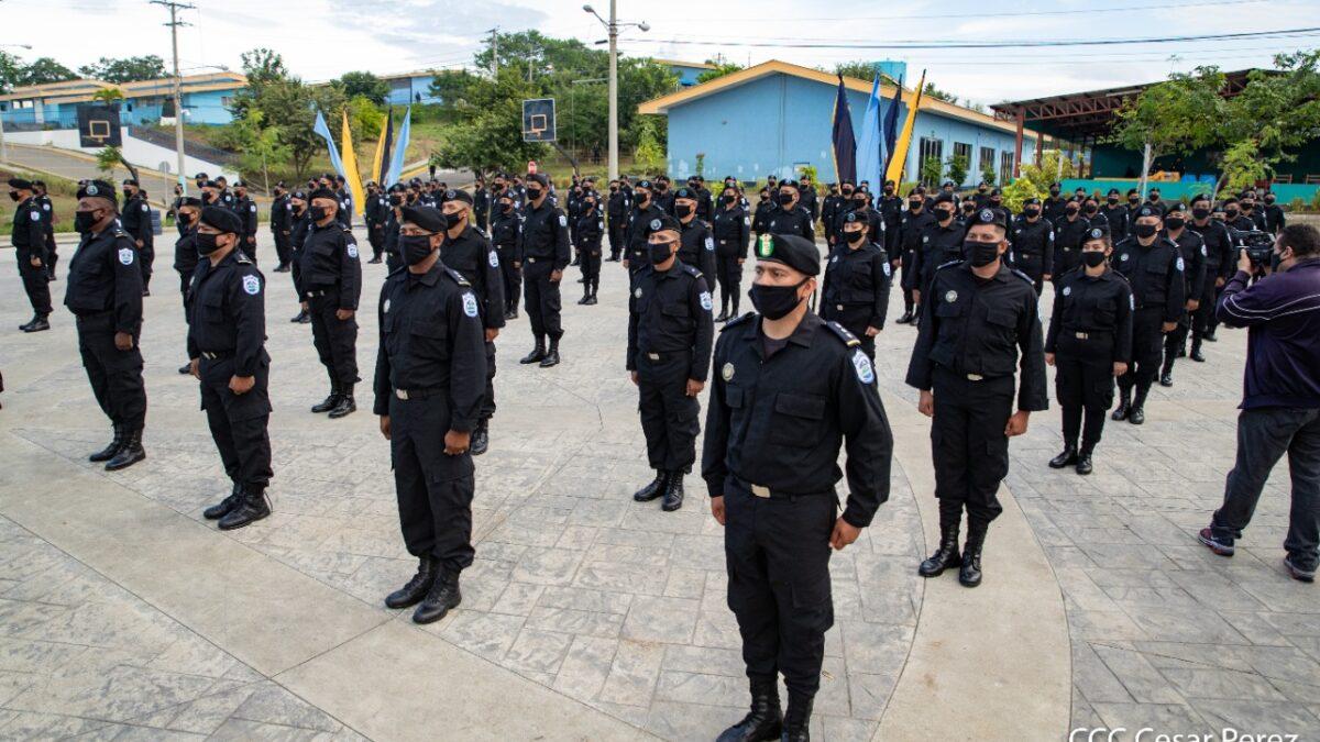 166 efectivos policiales  de la dirección de Operaciones Especiales  recibieron su ascenso en grado