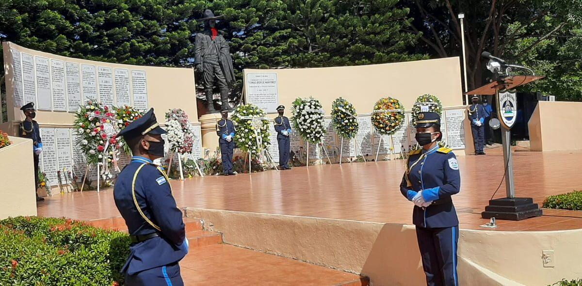 Policía Nacional rinde honores a sus caídos