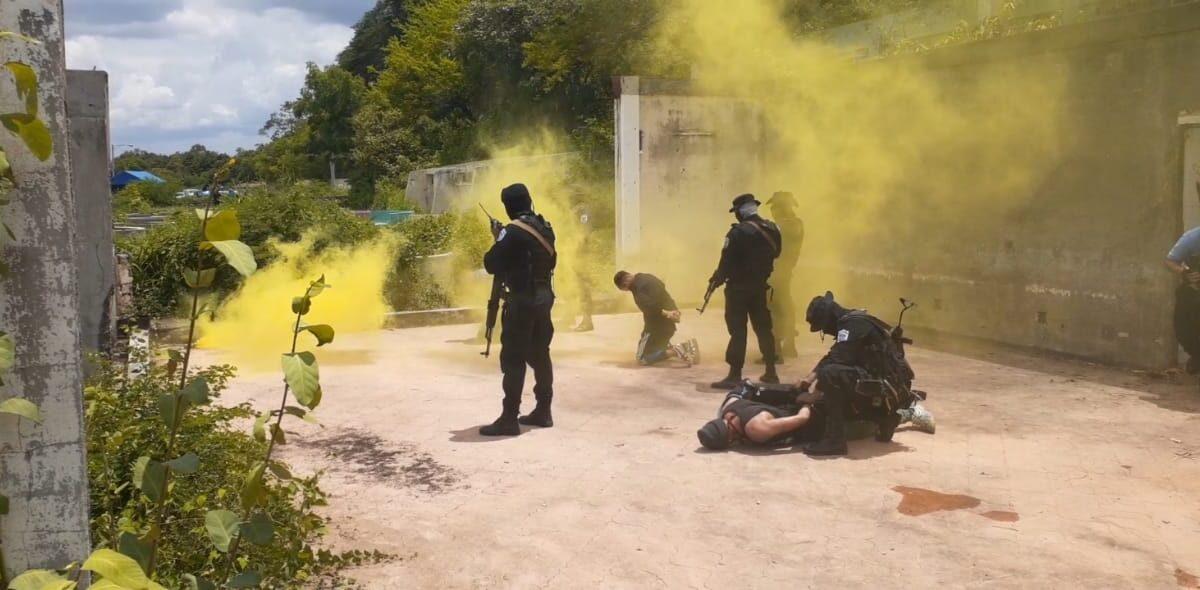Agentes policiales de Operaciones Especiales mejor preparados para enfrentar la delincuencia