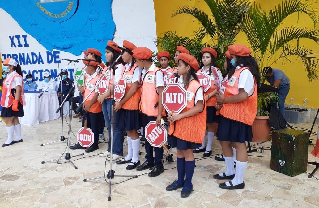 Nicaragua inicia campaña para prevenir accidentes de tránsito