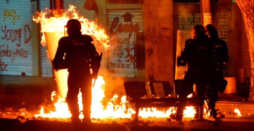 Once muertos contabilizan las autoridades producto de las protestas en Colombia