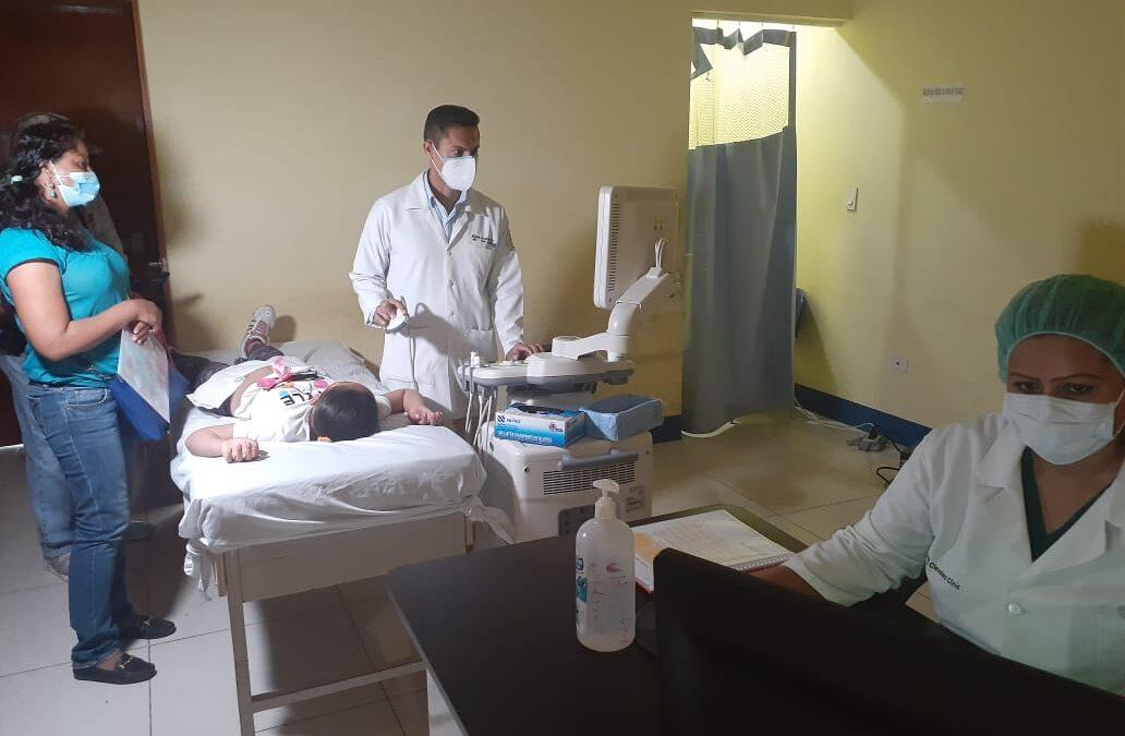 Radiólogos agilizan estudios de ultrasonidos a niños en hospital ´La Mascota´
