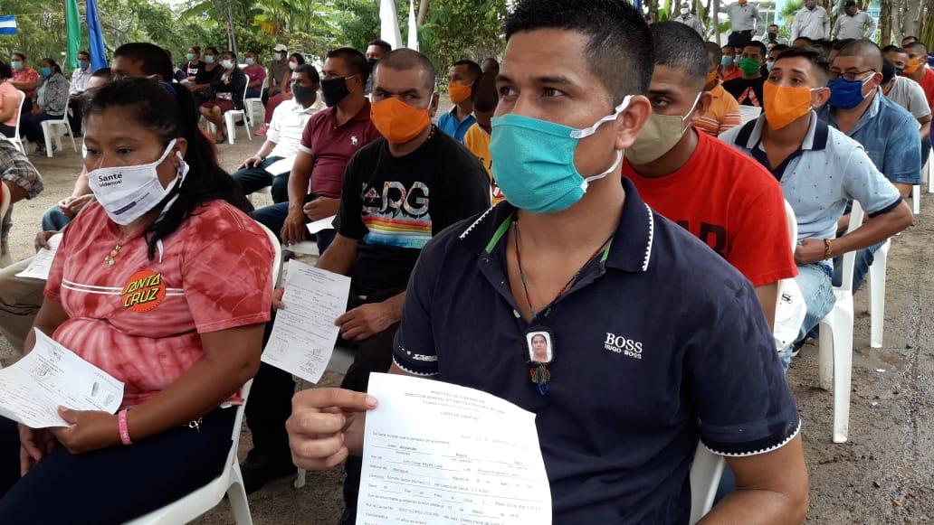 Reos reciben perdón presidencial en Sistema penal de Estelí