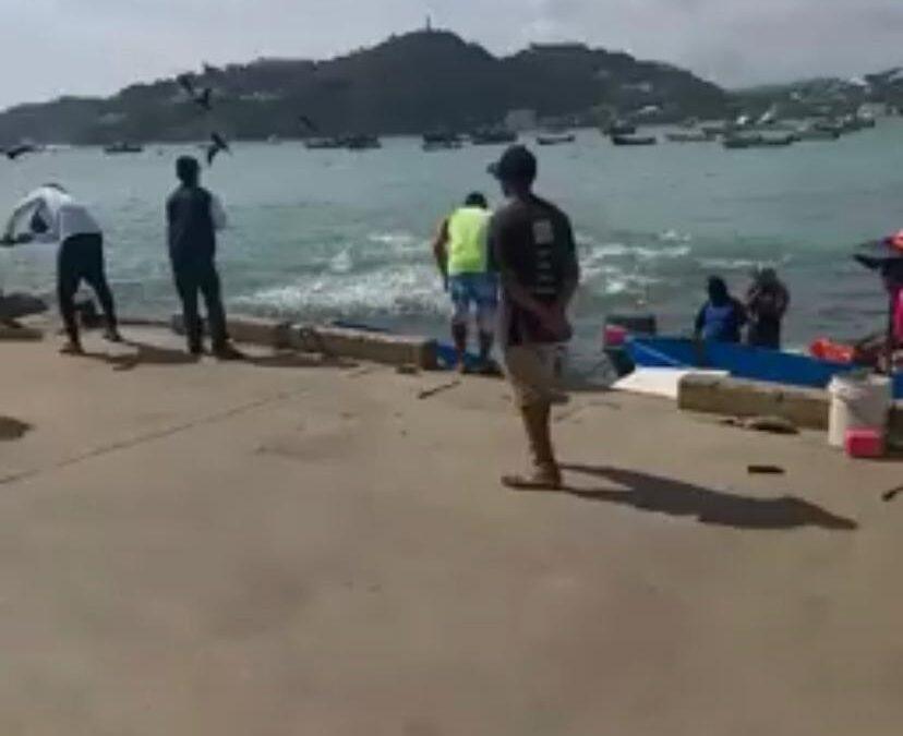 Espectáculo en las aguas heladas de San Juan del Sur