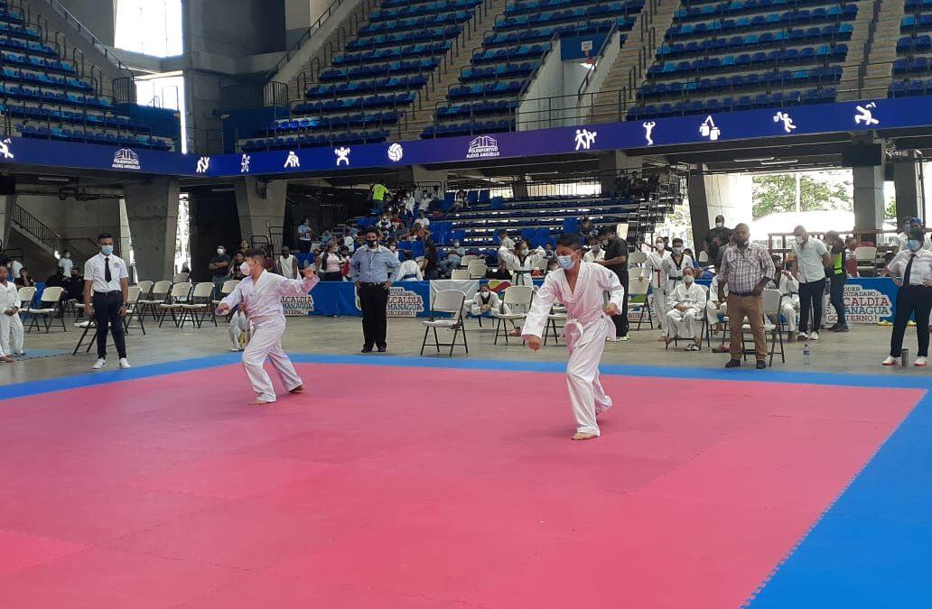 Copa nicaragüense de Taekwondo 2020 promueve el arte marcial