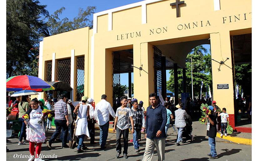 Nicaragua contará con un plan especial para los visitantes a los distintos cementerios del país