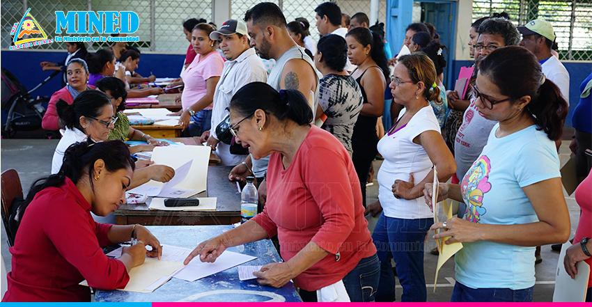 Inicia matrícula escolar para el año 2021 en Nicaragua