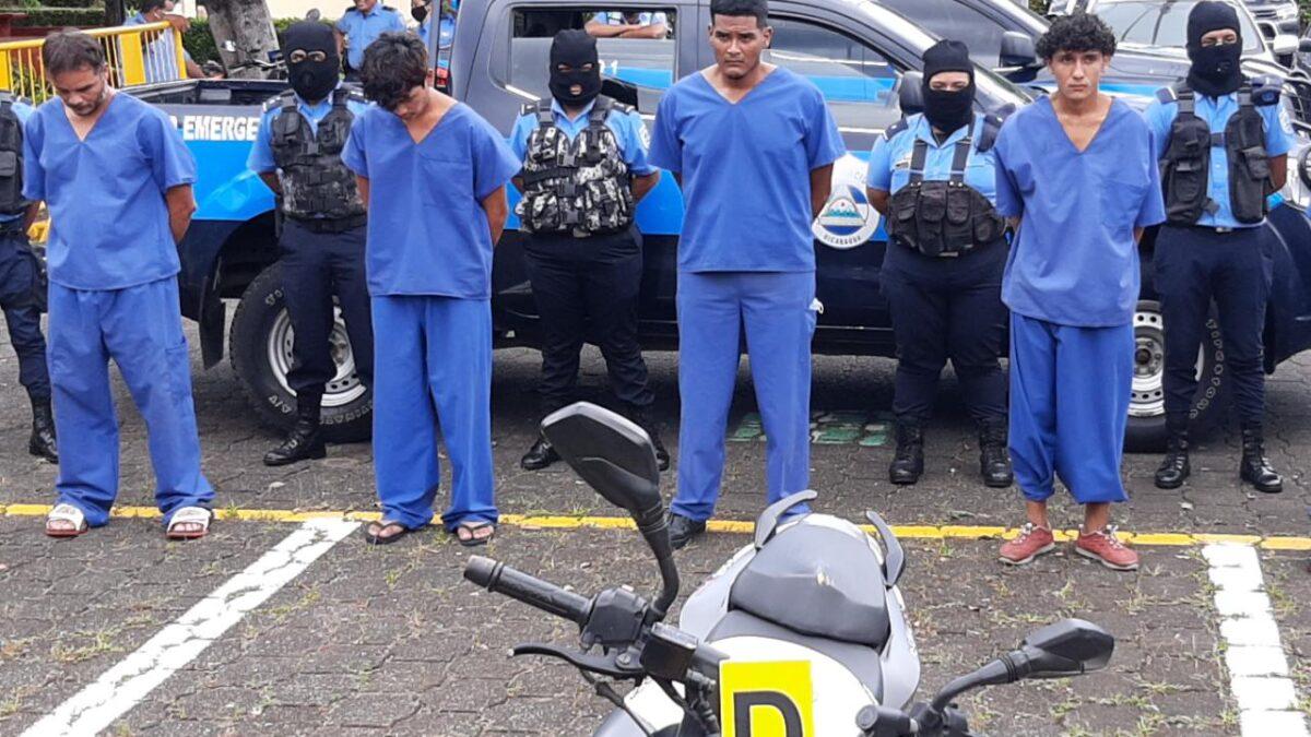 Capturan a motociclistas asaltantes circulados en redes sociales