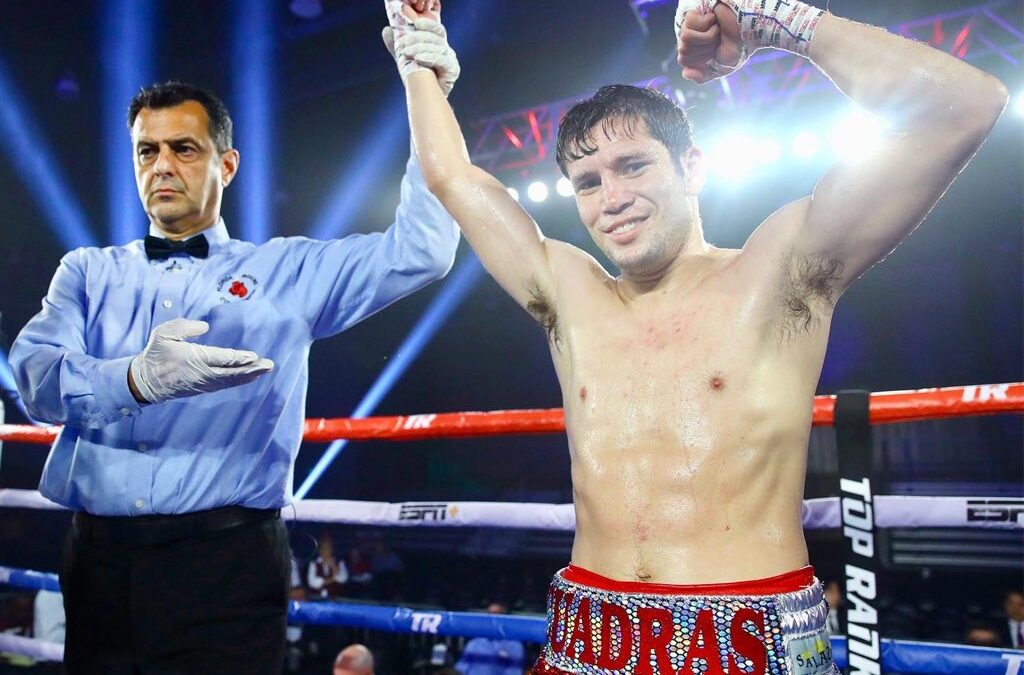Carlos Cuadras dio positivo a COVID-19