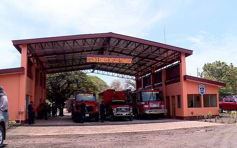 Nicaragua finalizará el 2020 con 101 estaciones de bomberos