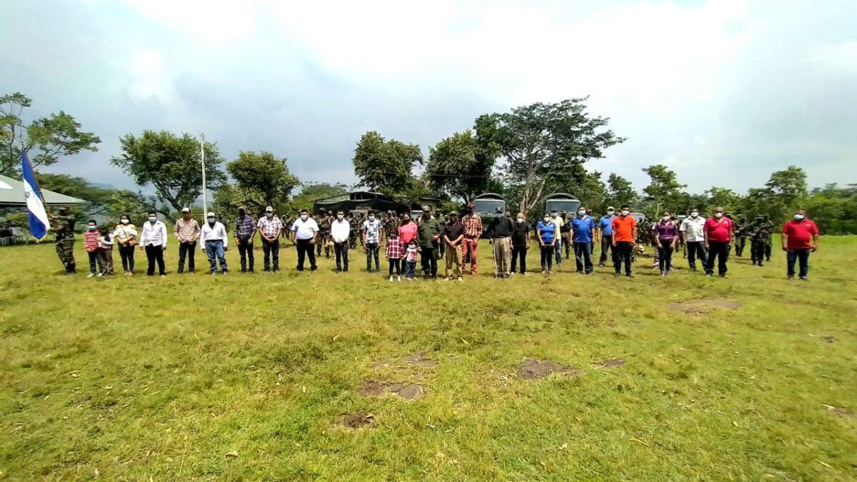 Boaco, realizan lanzamiento del plan de protección a la cosecha cafetalera