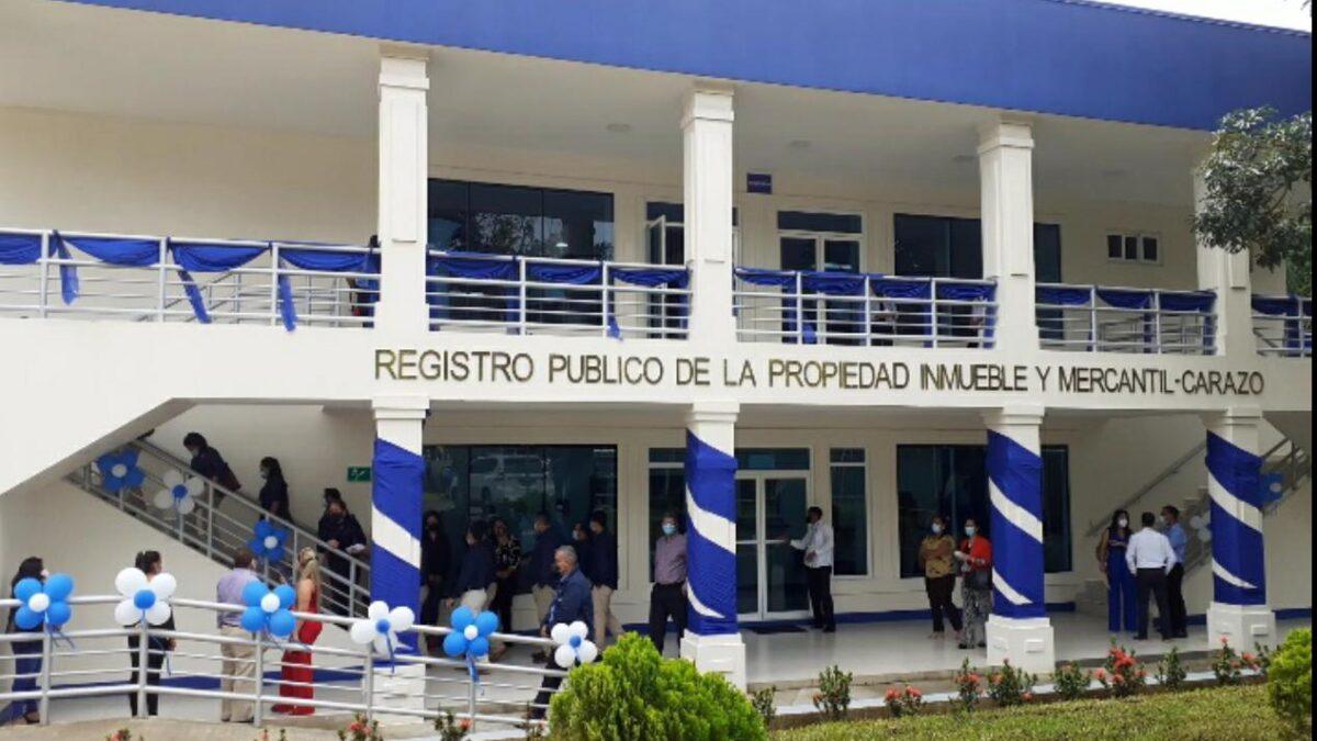 Inauguran moderno complejo judicial de Carazo