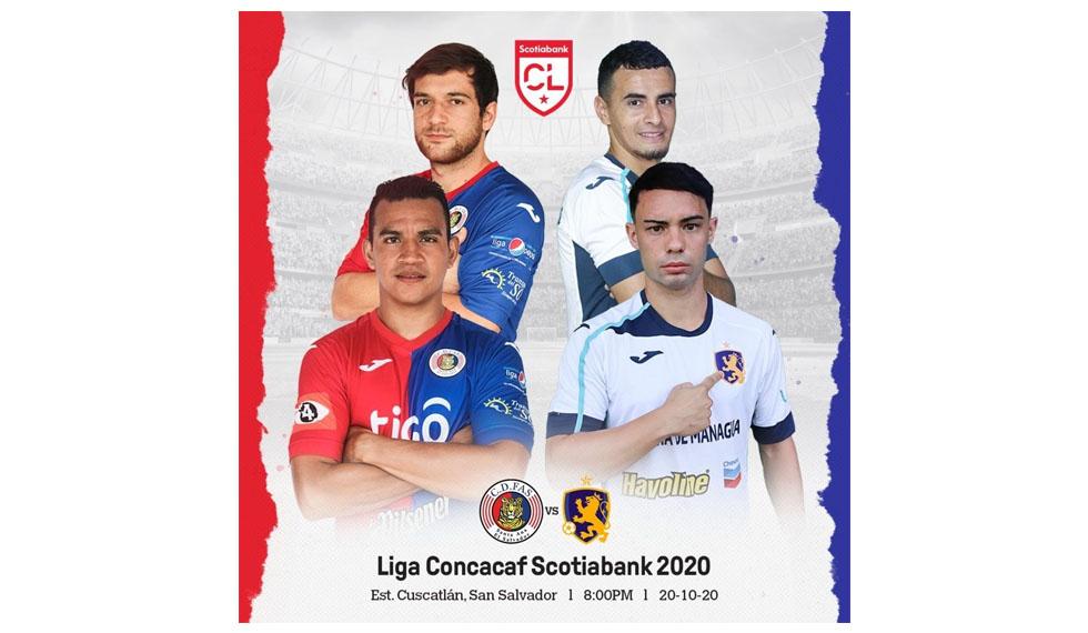 Concacaf anunció casos positivos de Covid-19, previo al duelo entre el Managua FC y el CD FAS