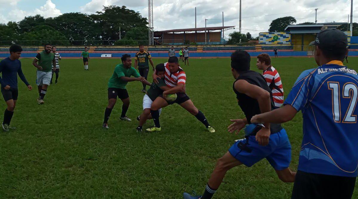 Desarrollan torneo cuadrangular de Rugby