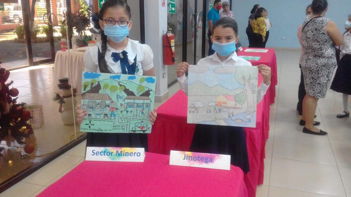 Niños aprenden a prevenir riesgos dibujando