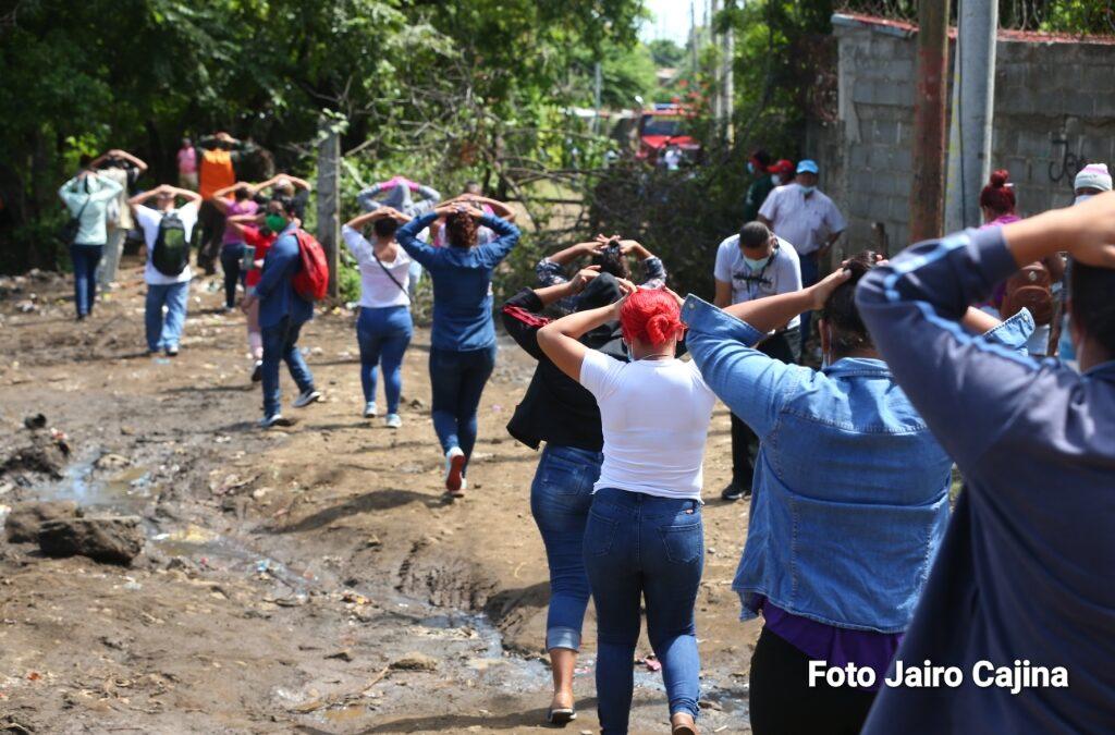 400 personas participaron del tercer Ejercicio de Protección a la Vida en el Barrio Carlos Nuñez