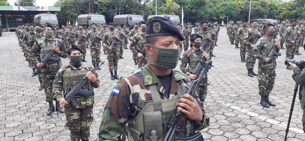 Ejército de Nicaragua, ejecuta plan de seguridad a la producción cafetalera en Managua