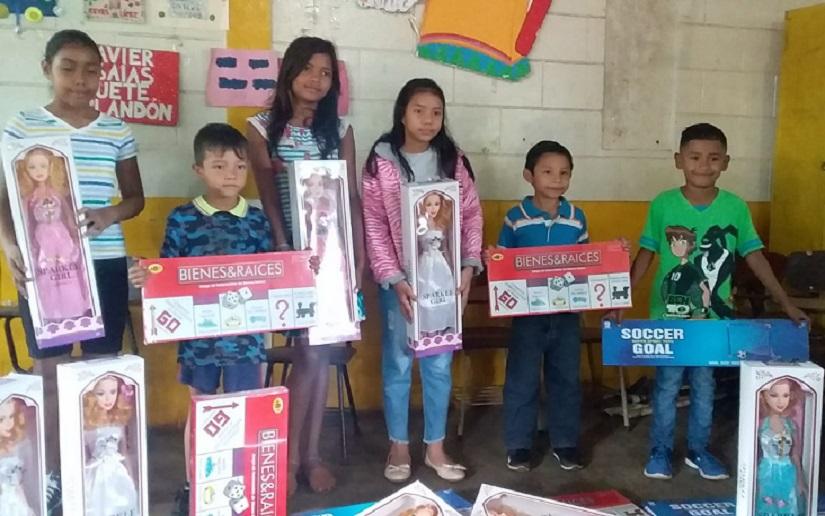 Gobierno de Nicaragua distribuirá más de un millón de juguetes a la niñez nicaragüense