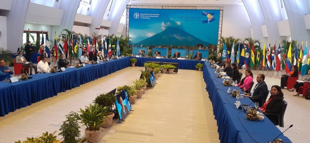 Nicaragua es sede de Conferencia Regional de la FAO