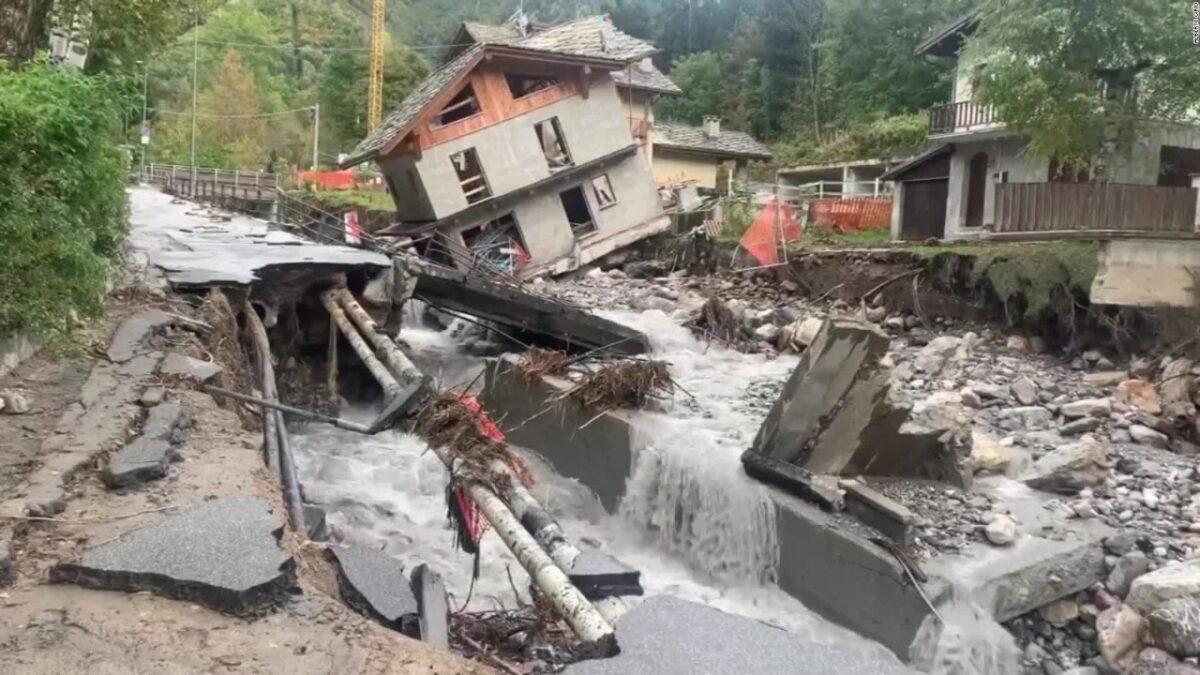 Millonarias pérdidas dejan las inundaciones en el sureste de Francia