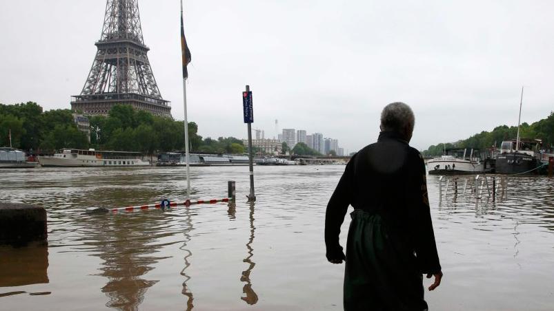 10 personas desaparecidas dejan las fuertes lluvias en Francia