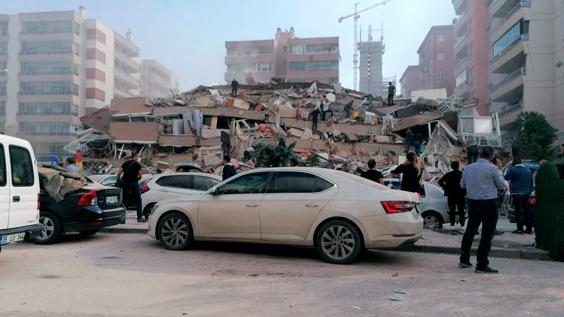 Un terremoto de 6.9 de magnitud afecto las costas de Turquía y las Islas Griegas