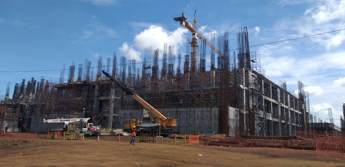 Avanza en un 34.32% construcción del nuevo Heodra en León