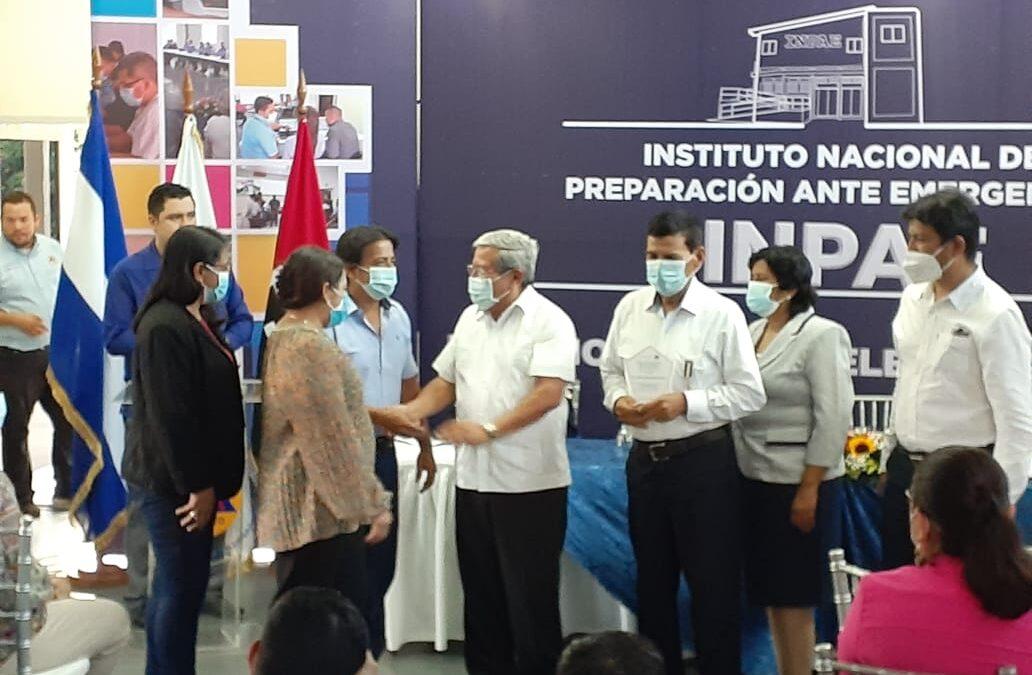 Nicaragua cuenta con un Instituto Nacional de Preparación ante Emergencias