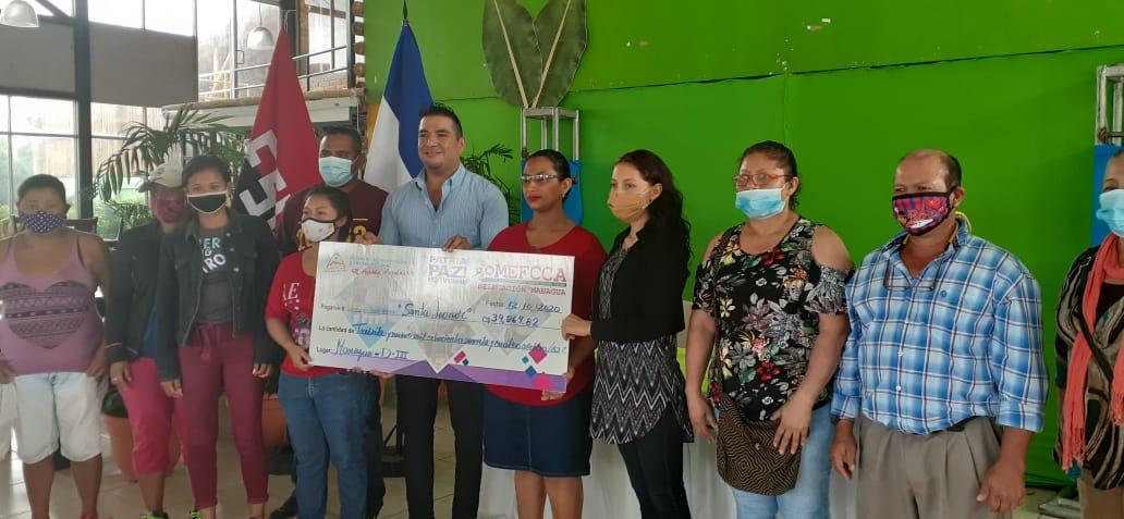 Más de 600 mil córdobas en microcréditos en zonas rurales de Managua