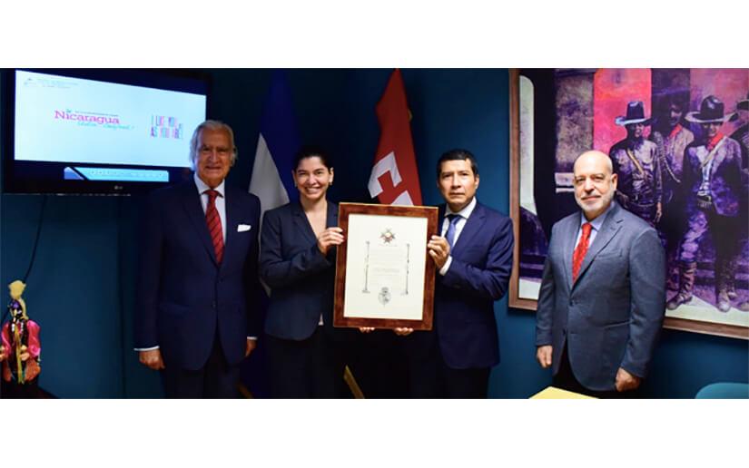Orden Iberoamericana Infante Chaves entregó la Fundación Carlos III a la Policía Nacional