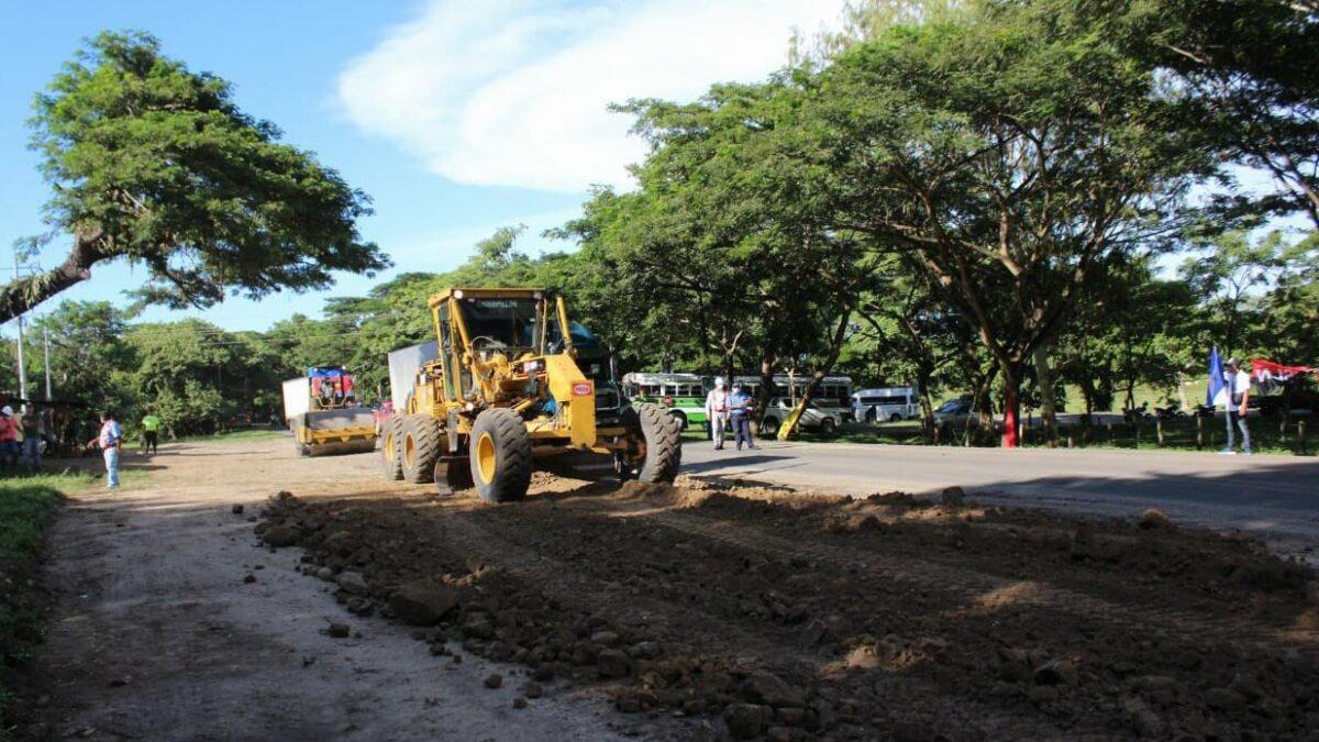 Inicia proyecto de ampliación de la carretera Sapoá – Peñas Blancas