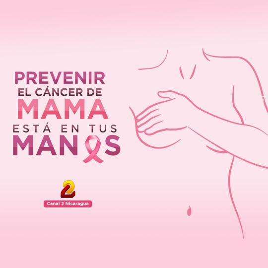 Toda mujer mayor de 18 años debe hacerse autoexamen de mama