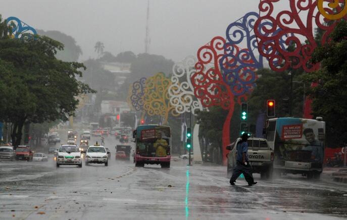 Pronostican semana con lluvias intermitentes en Nicaragua
