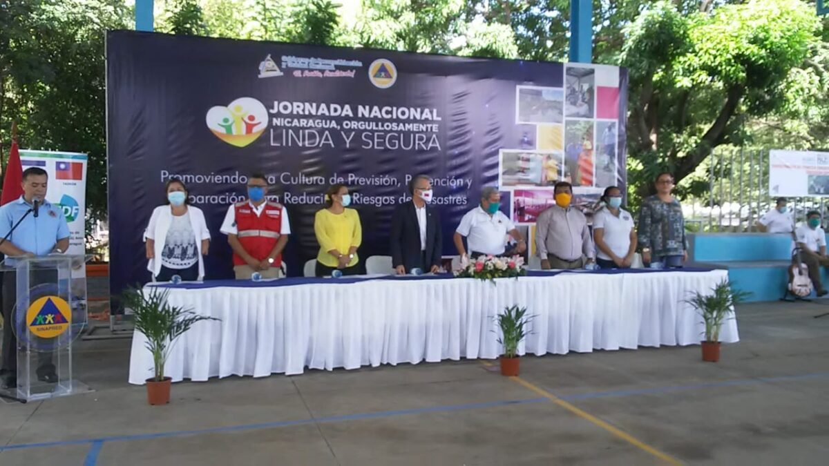 SINAPRED realiza Jornada Nacional «Nicaragua Orgullosamente Linda y Segura»