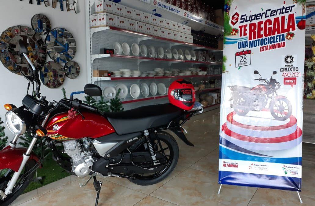 Aproveche los descuentos y la rifa de una motocicleta en SuperCenter