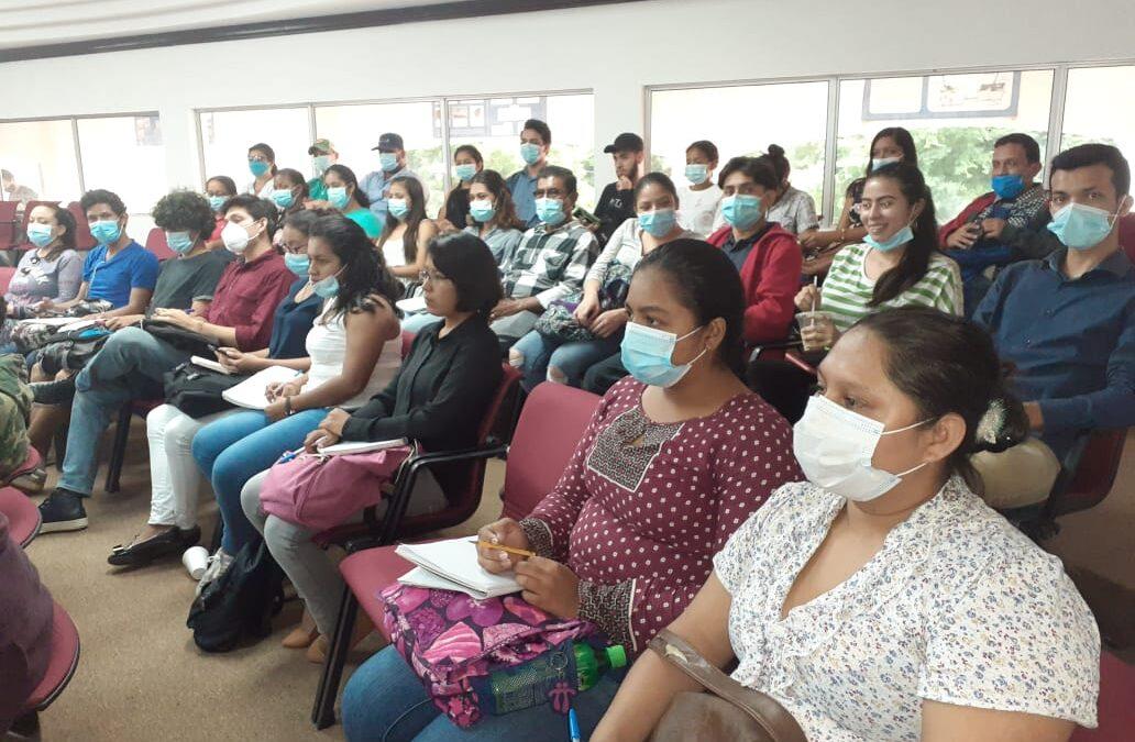 Universitarios conocen los esfuerzos de Nicaragua en justicia climática