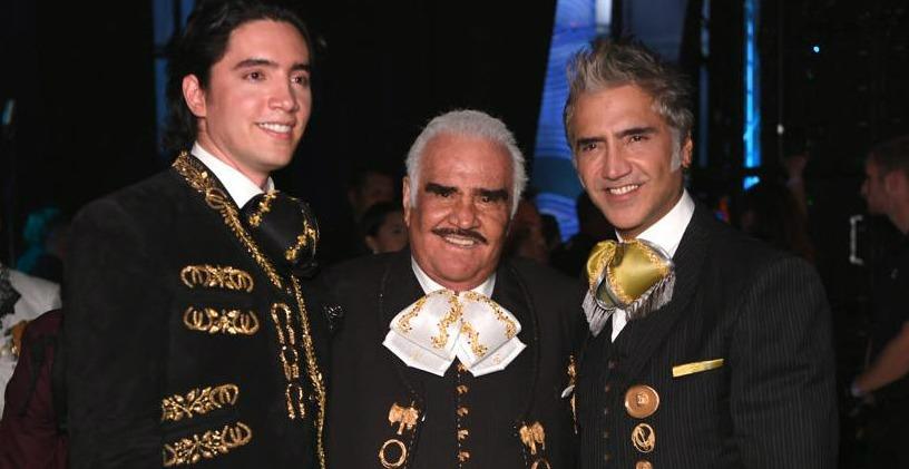 El reencuentro de tres generaciones de Fernández