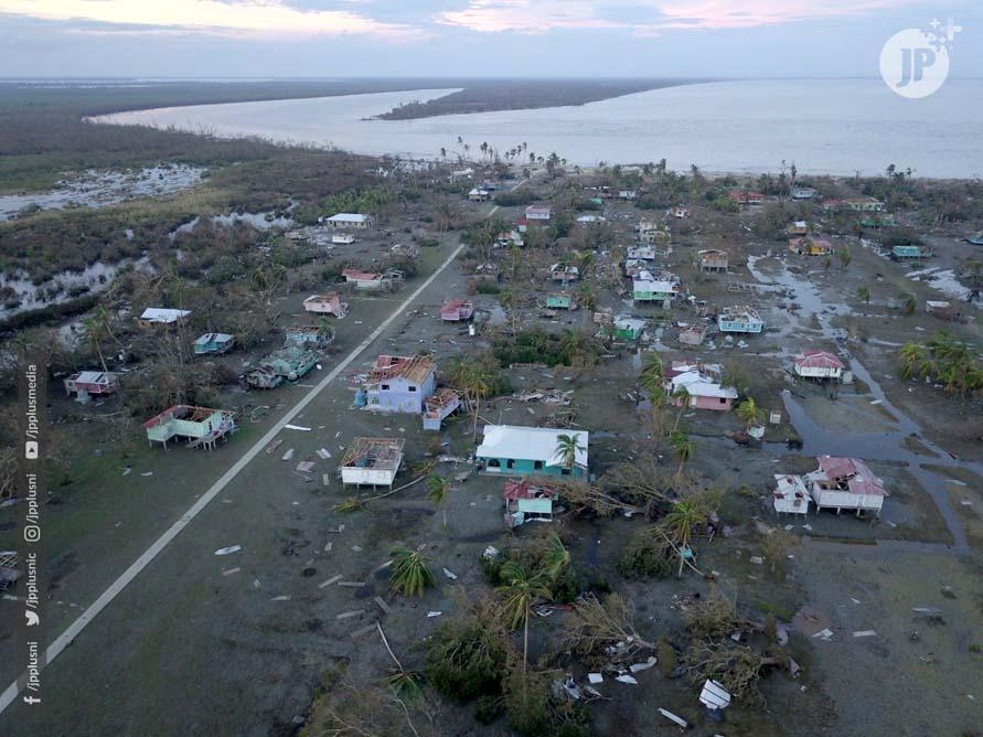 Resumen preliminar sobre daños provocados por el Huracán Eta