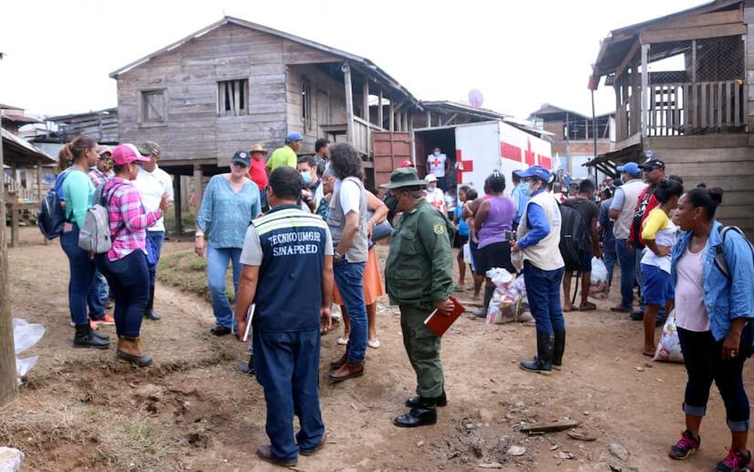 Sinapred brinda acompañamiento solidario a las familias afectadas por Iota y Eta
