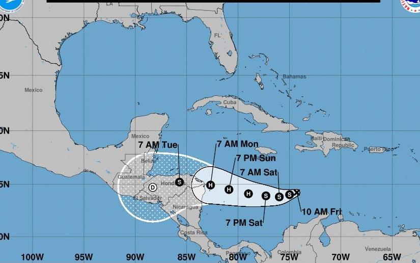 Gobierno de Nicaragua vigilante ante la depresión tropical 31 en el Caribe