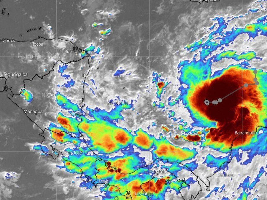 SINAPRED mantiene vigilancia de la tormenta tropical IOTA