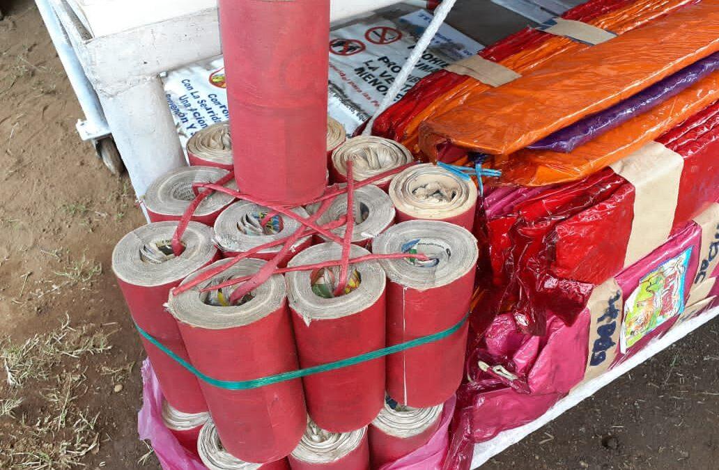 Comerciantes listos con la venta de pólvora